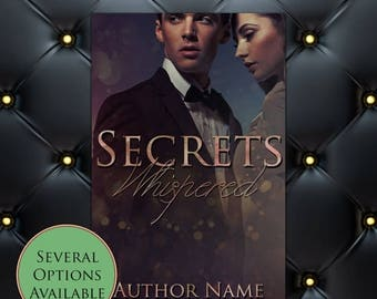 75% SALE Secrets Whispered Pre-Made eBook Cover * Kindle * Ereader Cover