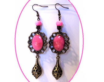 Medieval style earrings