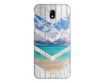 Wooden Beach Case For Samsung S8 Plus Case For Samsung Galaxy S8 Case For Samsung S7 Protective Hard Case For Samsung S8 Hard Plastic Case