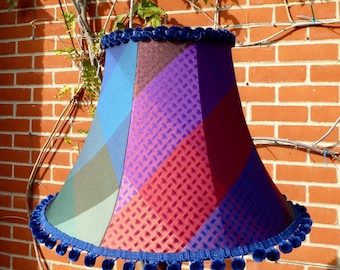 Silk Standard Lampshade, Empire shape