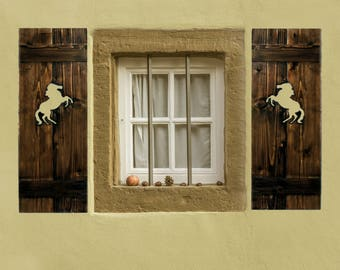Exterior House Shutters, Pair Of, House Shutters, Exterior Shutters,  Western Home Decor Part 45