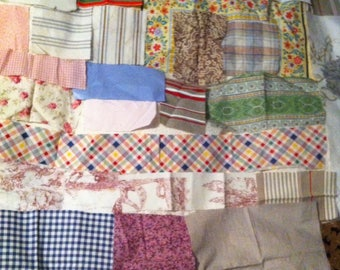 various patchwork fabric coupon