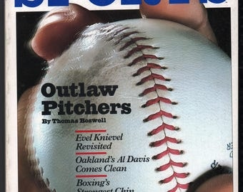 Vintage Magazine - Inside Sports : May 1981 EX+ White Pages High Grade Unread No Label