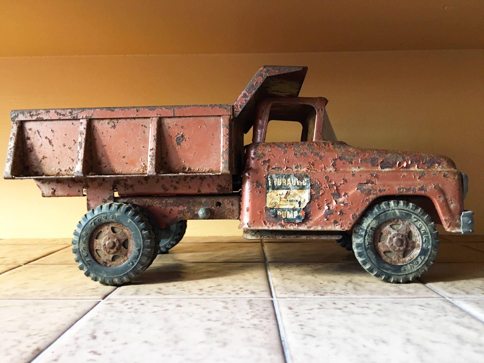 Jouet vintage tonka camion jouet camion camion benne - Camion benne tonka ...