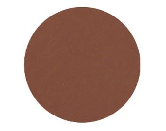 Caramel, 26 mm pressed matte, highly pigmented and so creamy
