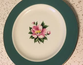 Empire Green salad plate