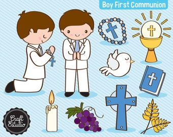 First communion, First Communion, Boy, Catholic, Instant Download, Digital Paper, Clipart, High Resolution, JPG PNG, Scrapbooking Clipart