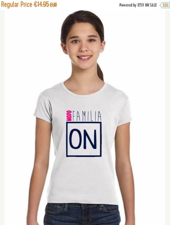 REBAJADO Girl t-shirt MODO FAMILIA On in various colors