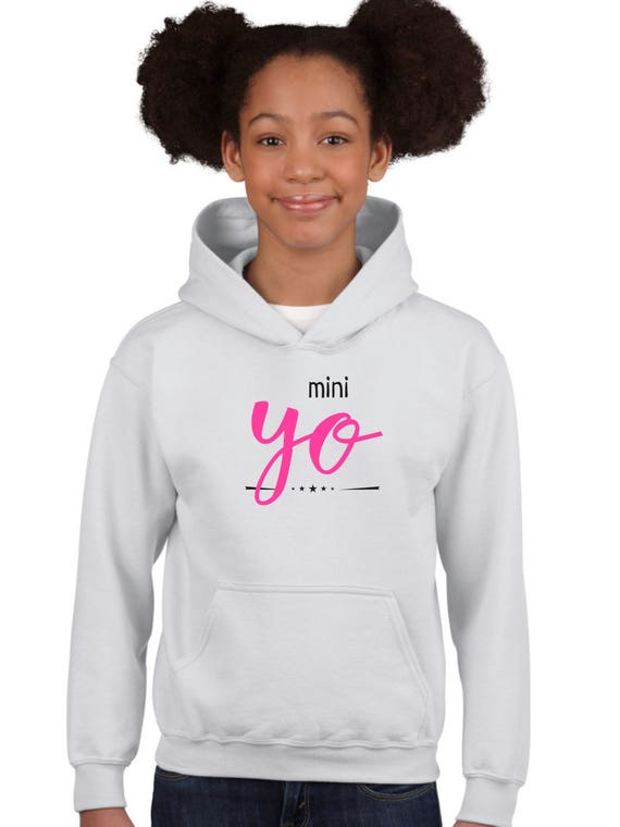 Boy Girl hoodie MINI YO