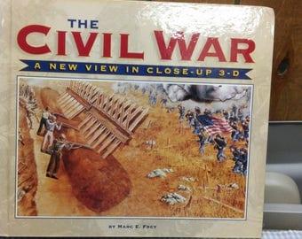 The Civil War 3D Close Up Book