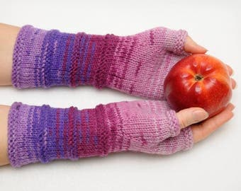 Fingerless Gloves inspirational womens gift Clothing Gift ideas for wives gift for her Knit Winter Gloves Mittens Arm Warmers Wrist Warmers