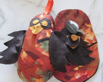 DIY Halloween Owl, DIY Funny Owl, Owl Sewing Kit, Owl Kit, Owl hanger, Halloween decor, halloween cushion, stuffed animals,