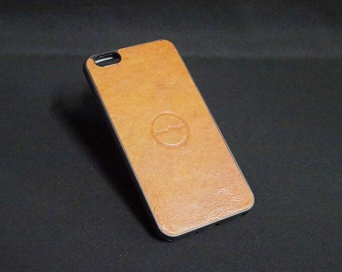 Apple iPhone 6 Plus + - Jimmy Case in Whiskey Tan - Kangaroo leather - Handmade - James Watson