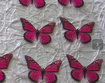 Sheet with 6 sets of wings
