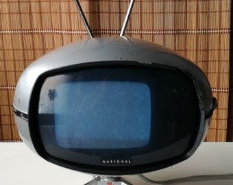 National Panasonic Orbitel Tv tr-005 EU space age Made in Japan