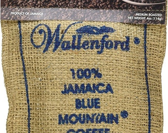 100% Wallenford Roast and Ground  Jamaica Blue Mountain Coffee 16oz