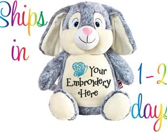Personalized Stuffed Animal - Rabbit