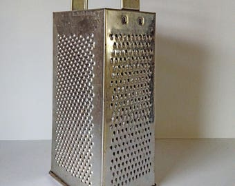 Vintage Fackelmann Box Grater -Cheese Grater - Farmhouse Kitchen Decor