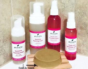 Feminine Wash Foam Intimate cleanser, Feminine Hygiene wash soap spray, vaginal itching odor