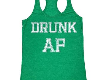 ON SALE - Drunk AF - Ladies' Tank Top