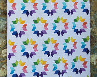 Hazel The Hedgehog Quilt Pattern By Elizabeth Hartman From Oh
