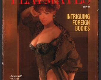 Mature Vintage Playboy Special Edition Mens Girlie Pinup Magazine : Playboy's International Playmates March 1993