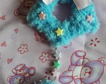 Fluffy Star (blue)