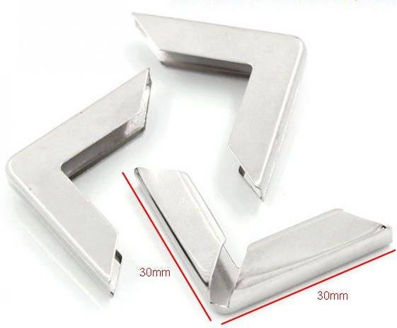 gros angle coin de protection pour livre 30x30x5mm. Black Bedroom Furniture Sets. Home Design Ideas