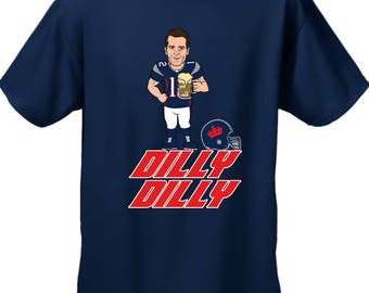 Dilly Dilly Tshirt,Tom Brady,  Patriots, Silly Tshirt, Dilly Dilly New England Tshirt, Patriots Sweatshirt, Beer Shirt