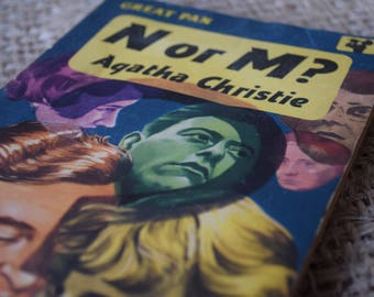 N or M? The Enemy Within. Agatha Christie. Tommy and Tuppence 3. Great Pan. A Vintage Paperback Book. 1959
