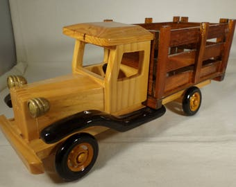 Toy wood truck-hand made