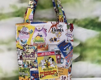 Medium Disney Movie Posters Tote