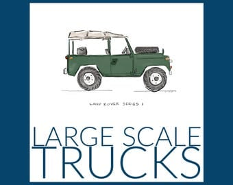 Large Scale Trucks