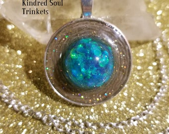 Mermaid Scale Pendant Necklace