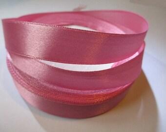 10 m 16mm pink satin ribbon