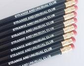 Strange and Unusual pencils   Beetlejuice Pencils   Alt pencils   Beetlejuice quote   Lydia Deetz