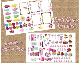 SALE | 75% OFF | Candy Shoppe Cute Planner Stickers