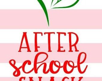 After School Snack SVG