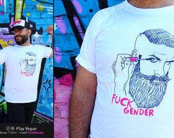 Queer Tshirt - Fuck Gender