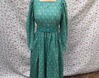 Vintage deess by Laura Ashley, 80s