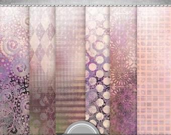 sale Lavender fields, digital paper, jpg, 12x12 in, printable