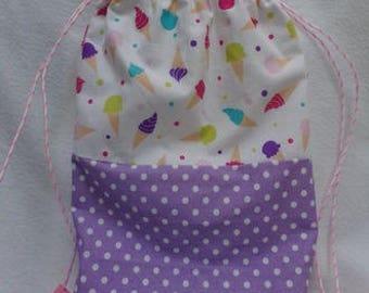 Bag child model cord ice