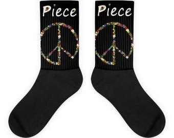 Piece Sign Socks