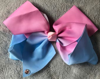 Two Tone Knot Hair Bow