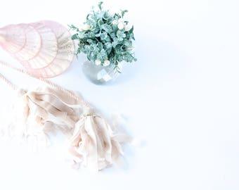 Stock Photo - Christmas Stock Image - Holiday Stock - Greenery Decor - Christmas Tree - Ornaments - Instagram - Blog - JenKCalligraphy