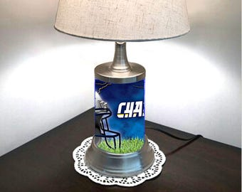 Los Angeles Chargers Lamp with shade