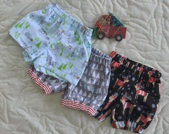 Boys Christmas Nappy Covers