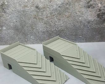 1/10 Scale RC Car Ramps Accessory