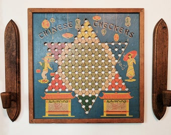Chinese Checkers / Vintage Board Game