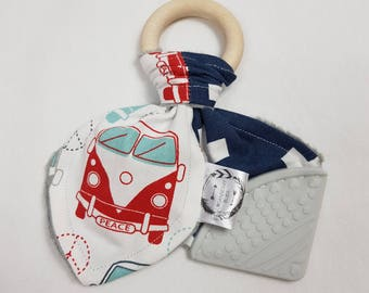 Baby Teething Ring - Kombi Van